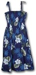 332-2798 Navy Pacific Legend Tube Dress