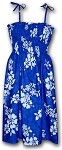 332-3156 Blue Pacific Legend Tube Dress
