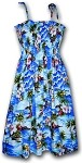 332-3238 Blue Pacific Legend Tube Dress
