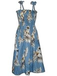 332-3162 Blue Pacific Legend Tube Dress