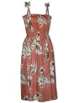 332-3162 Peach Pacific Legend Tube Dress