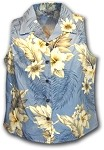 342-3162 Blue Pacific Legend Ladies Sleeveless Shirt