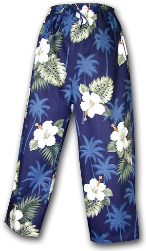 344-2798 Navy Pacific Legend Capri Pant