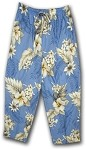 344-3162 Blue Pacific Legend Capri Pant