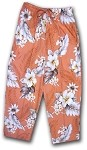 344-3162 Peach Pacific Legend Capri Pant