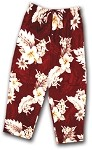 344-3162 Red Pacific Legend Capri Pant