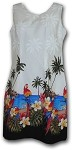 360-3468 White Pacific Legend Border Tank Dress