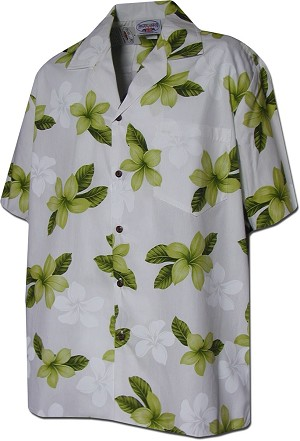 410-3551 Lime Men's Hawaiian Shirts