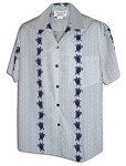 410-3832 NaWhite Pacific Legend Men's Hawaiian Shirts