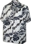 410-3876 White Pacific Legend Men's Hawaiian Shirts