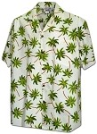 410-3892 Ivory Men's Pacific Legend Hawaiian Shirts