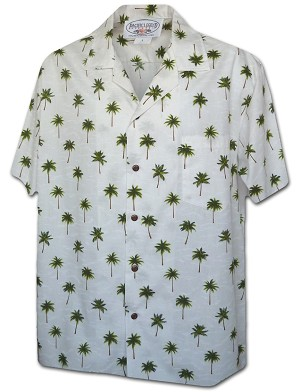 410-3976 Green Pacific Legend Men's Hawaiian Shirts