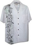 444-3828 Snow Pacific Legend Men's Single Panel Hawaiian Shirts