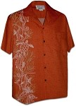 444-3828 Tangy Pacific Legend Men's Single Panel Hawaiian Shirts