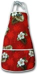948-2798 Red Pacific Legend Aloha Apron
