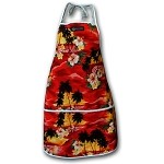 948-3104 Red Pacific Legend Aloha Apron