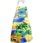 948-3132 Blue Pacific Legend Aloha Apron