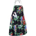 948-3531 Black Pacific Legend Aloha Apron