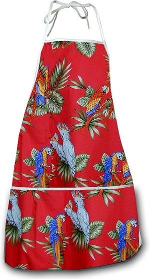 948-3531Red Pacific Legend Aloha Apron