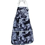 948-3555 Black Pacific Legend Aloha Apron