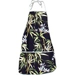 948-3571 Black Pacific Legend Aloha Apron