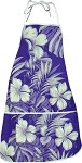 948-3589 Purple Pacific Legend Aloha Apron