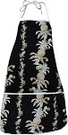948-3616 Black Pacific Legend Aloha Apron