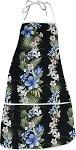 948-3622 Black Pacific Legend Aloha Apron