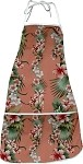 948-3622 Peach Pacific Legend Aloha Apron