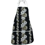 948-3638 Black Pacific Legend Aloha Apron