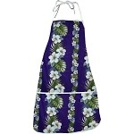 948-3638 Purple Pacific Legend Aloha Apron