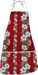 948-3638 Red Pacific Legend Aloha Apron