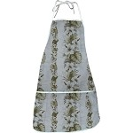 948-3638 White Pacific Legend Aloha Apron