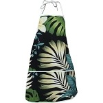 948-3688 Black Pacific Legend Aloha Apron