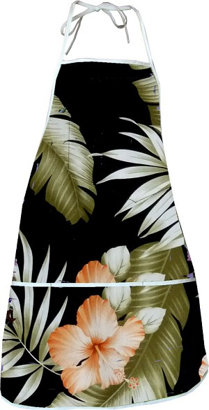 948-3743 Black Pacific Legend Aloha Apron