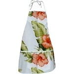 948-3743 White Pacific Legend Aloha Apron