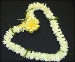 Double Tuberose Lei - Fresh Flowers